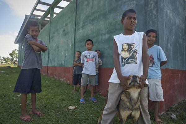 Boys of Nicuragua