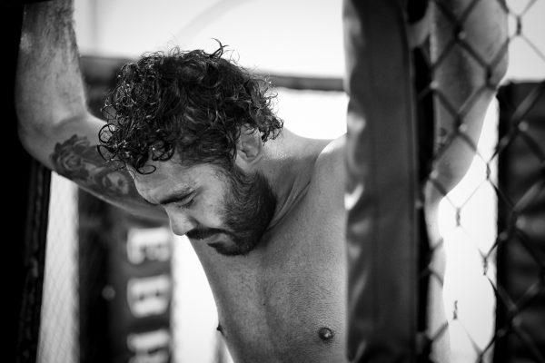 Training a Champion. UFC Fighter, Rafael Sapo Natal