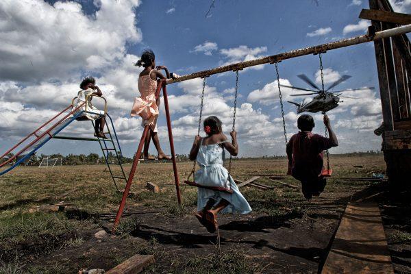 Children Playing in Nicuragua